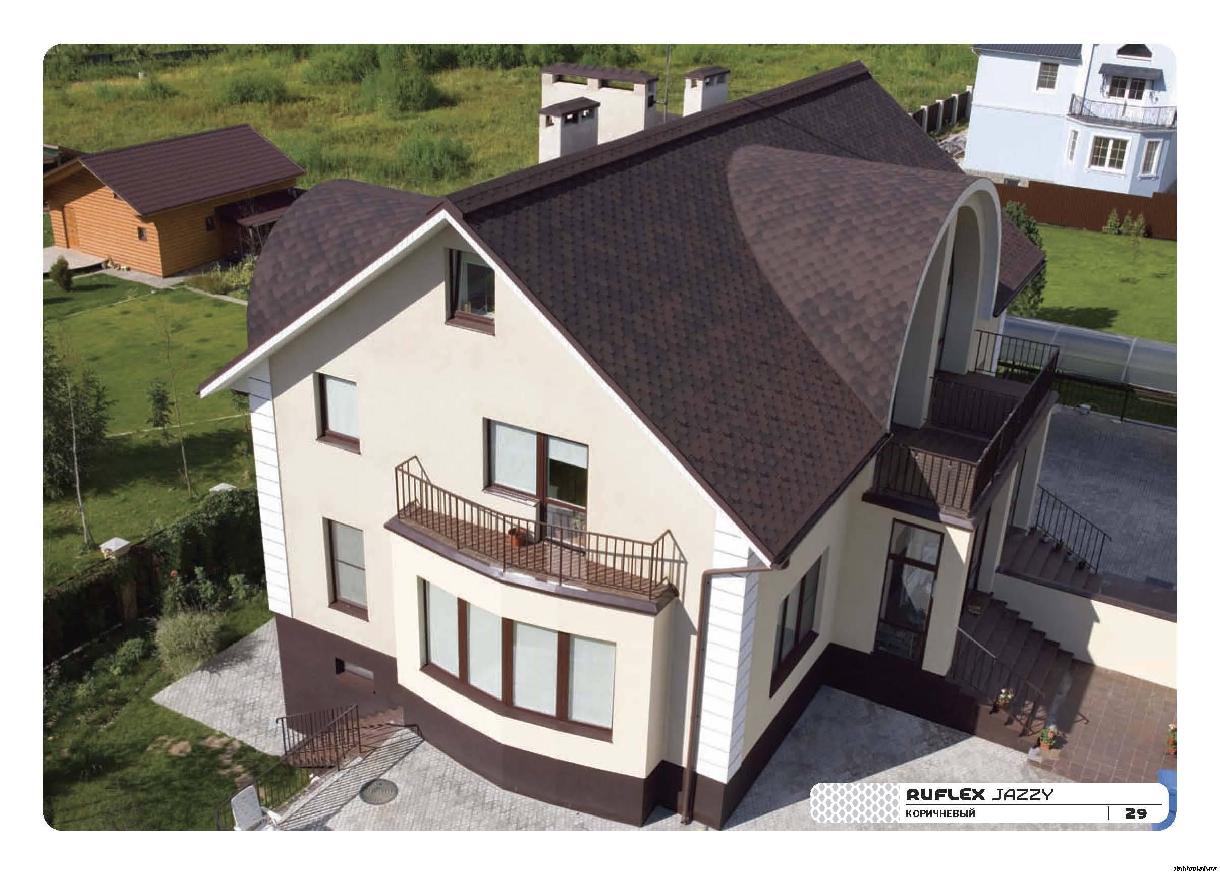 Как сделать красивую крышу для дома