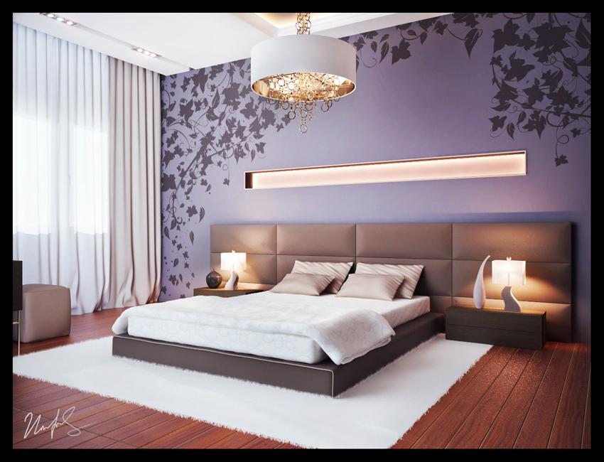 Современный дизайн интерьер спальни фото