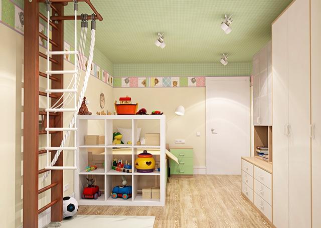 Дизайн детского уголка в квартире
