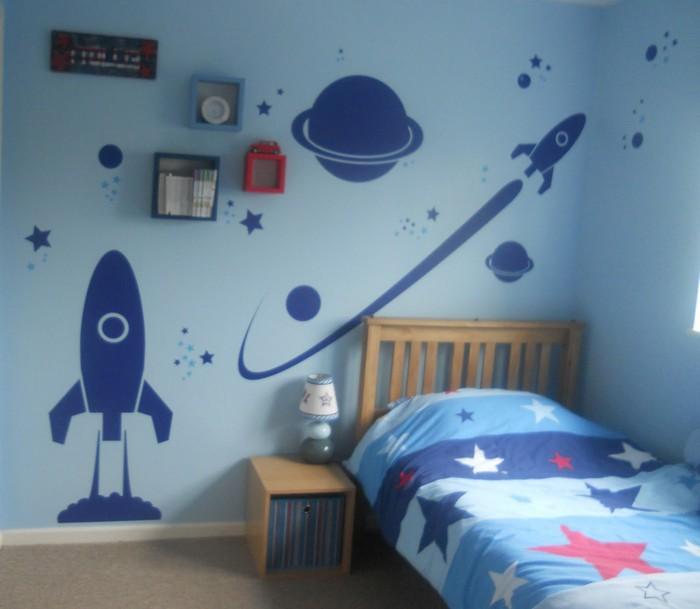 Рисунки на стенах своими руками для мальчиков 821