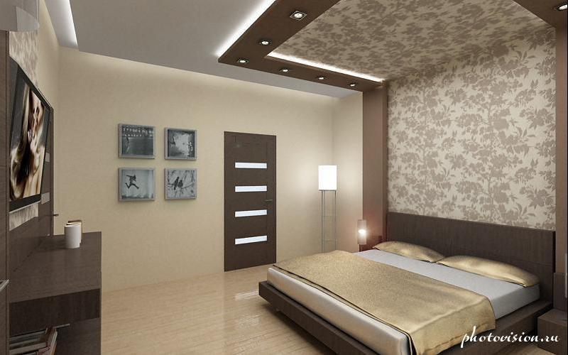 Ремонт спальни дизайн фото своими руками