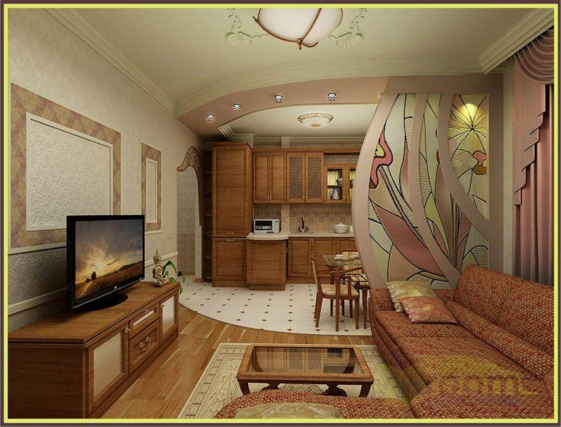 Дизайн интерьера 2-х квартиры