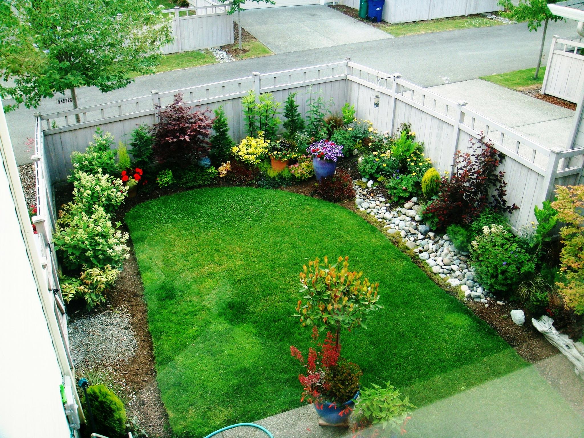 Маленькие садовые участки дизайн