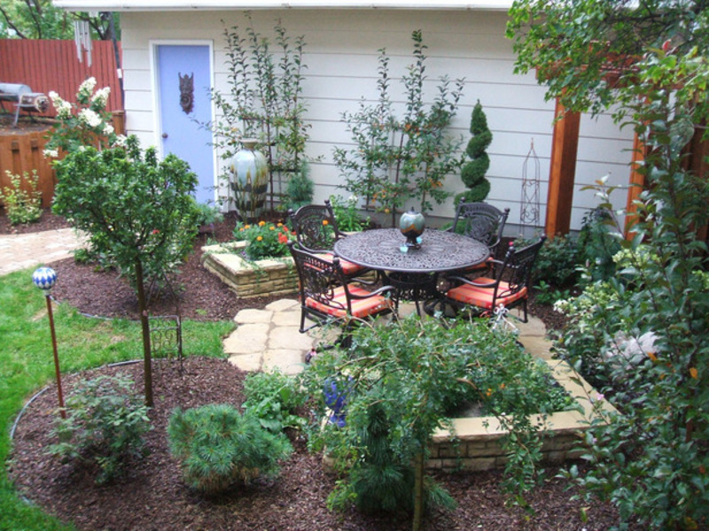 Как благоустроить садовый участок видео