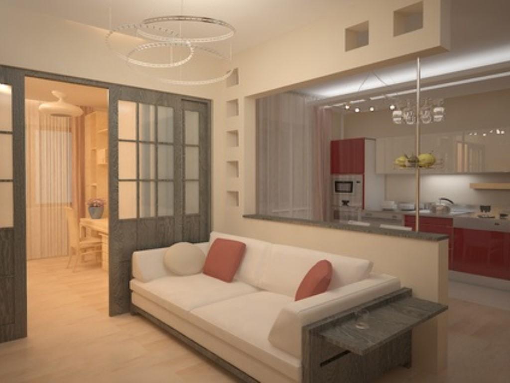 Ремонт в трехкомнатной квартире 70 м