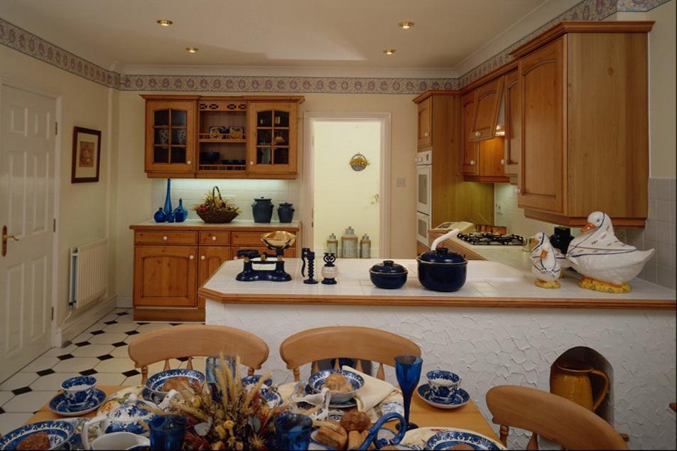 Интерьер дома своими руками кухни