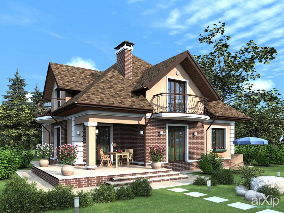 Дизайн красивых домом и коттеджей
