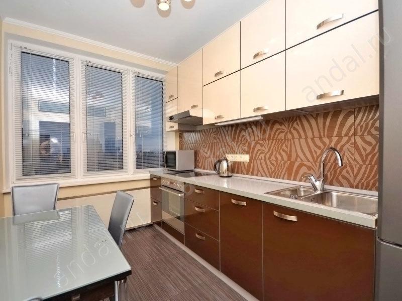 Дизайн кухни в типовой квартире