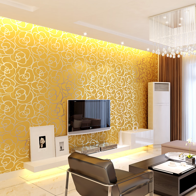 Дизайн обой квартир зала