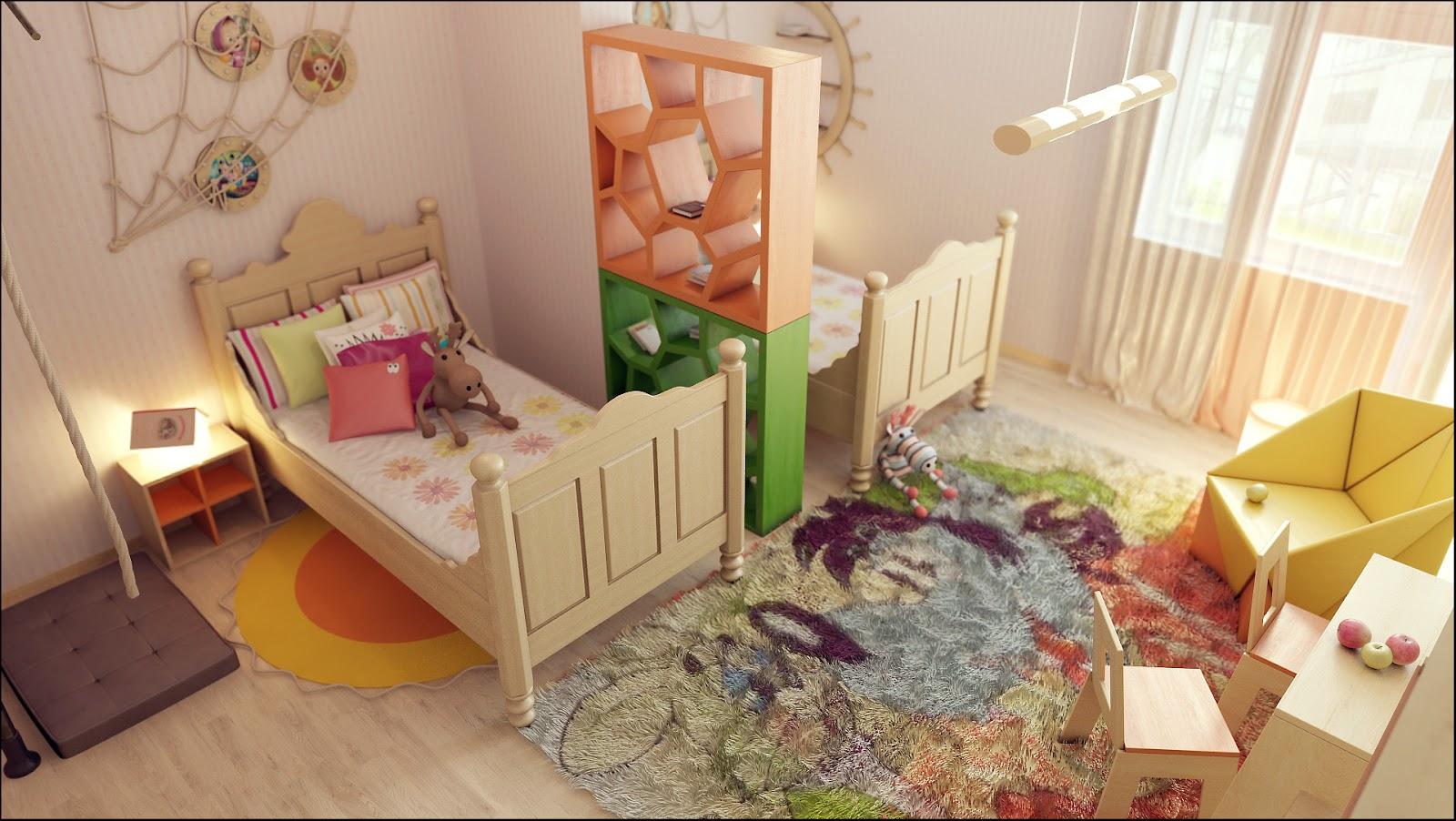 Как в одной комнате сделать две зоны: спальню 95
