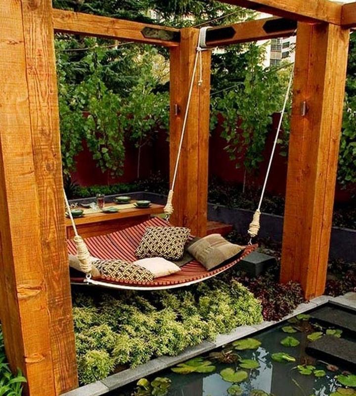 Самим сделать зону отдыха на даче своими руками