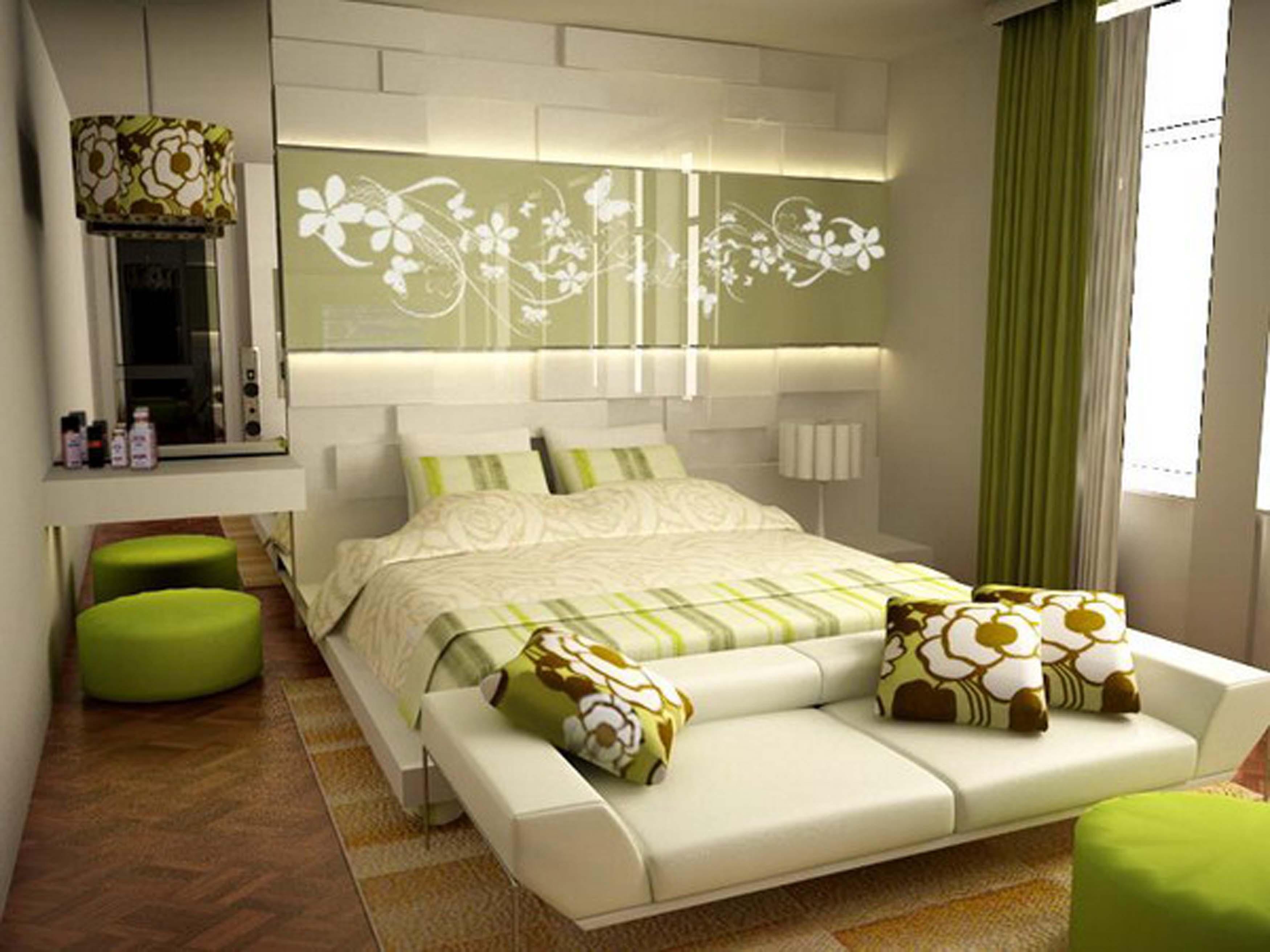 Интересные женские дизайны спален 53