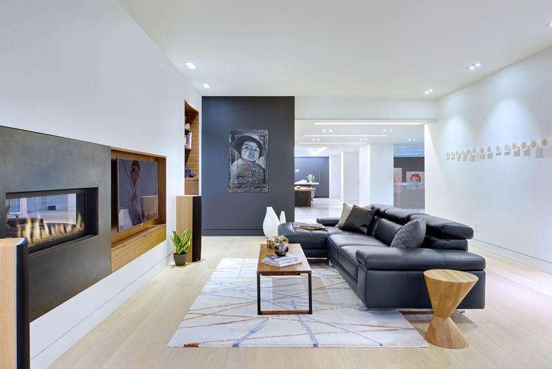 Современный дизайн гостиной минимализм