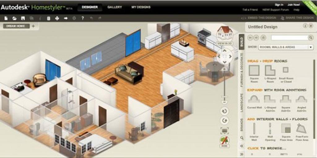 В какой программе сделать дизайн проект квартиры