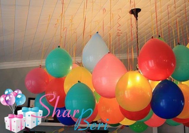 Украсить дом из шаров своими руками