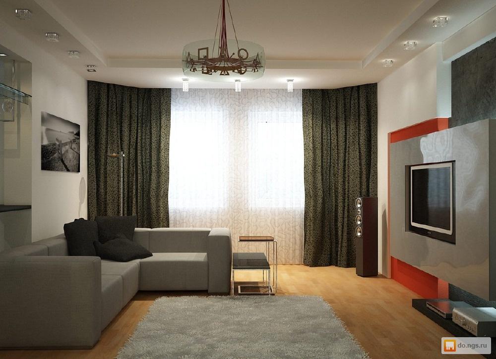 Ремонт и дизайн в комнат и зала