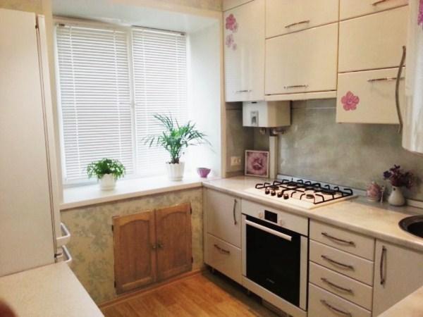 дизайн кухни 5 кв м в хрущевке фото