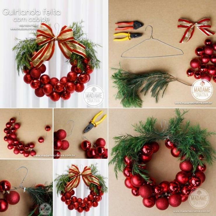 Рождественские украшения для дома своими руками