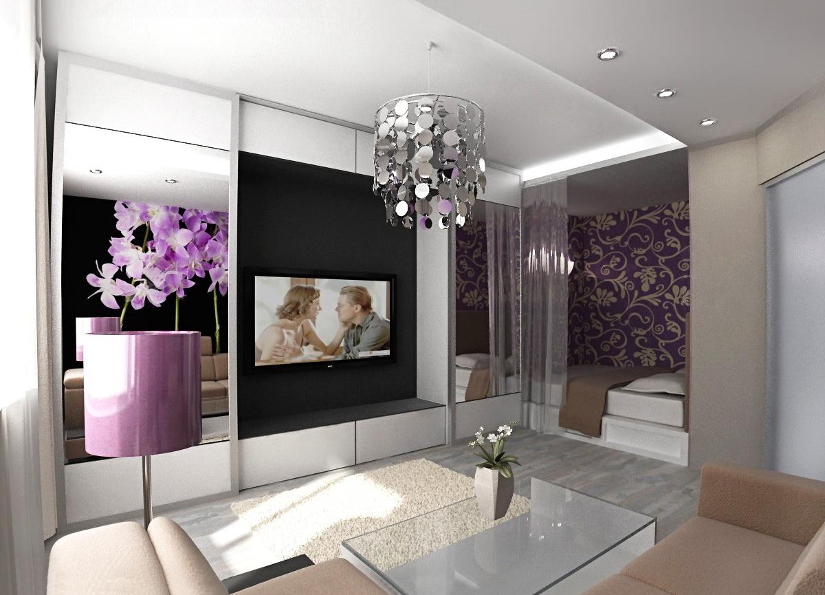 Дизайн спальни зала