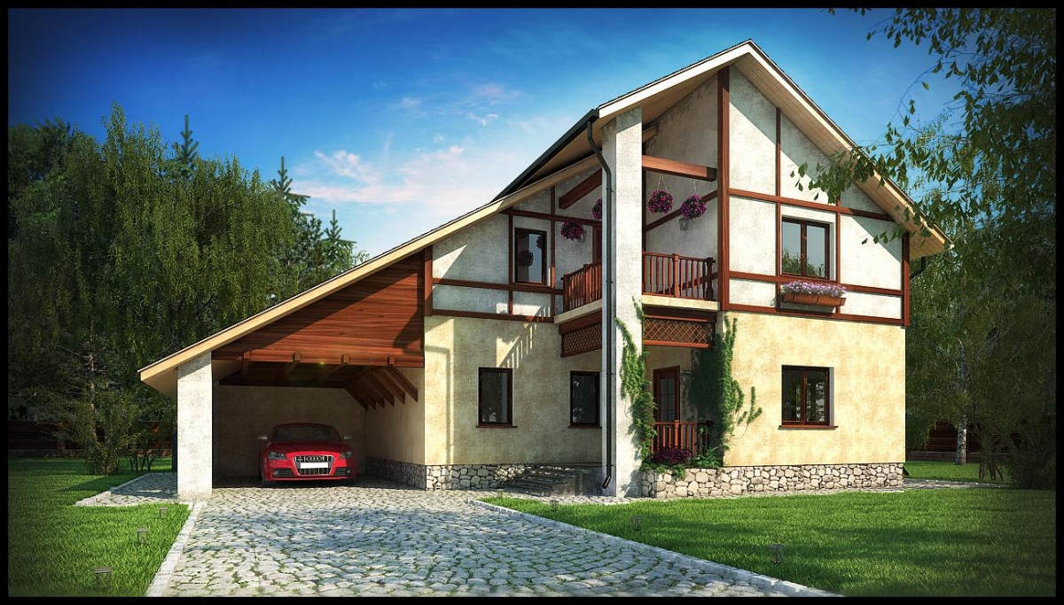Постройка красивого дома своими руками