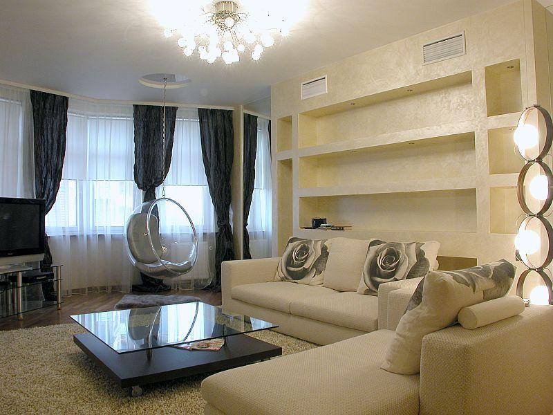 Дизайн четырехкомнатных квартир с