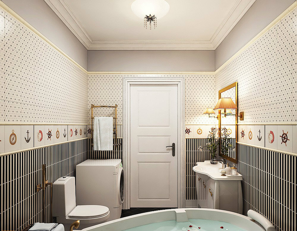 Интерьеры ванных комнат 6 м кв фото
