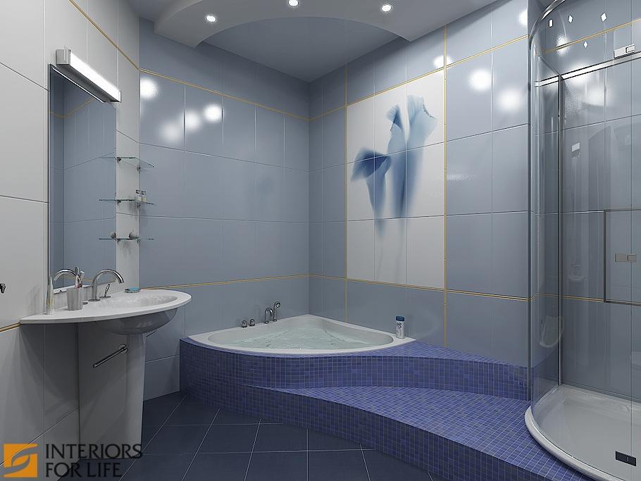 Дизайн ванных комнат 9 квм