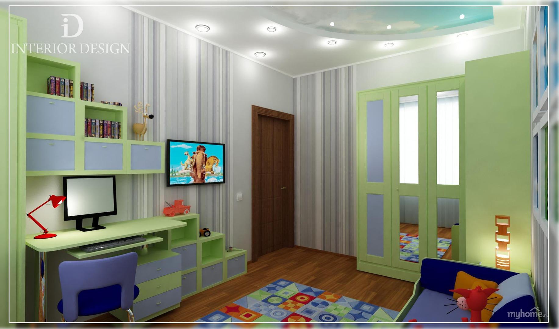Идеи ремонта комнаты для мальчика
