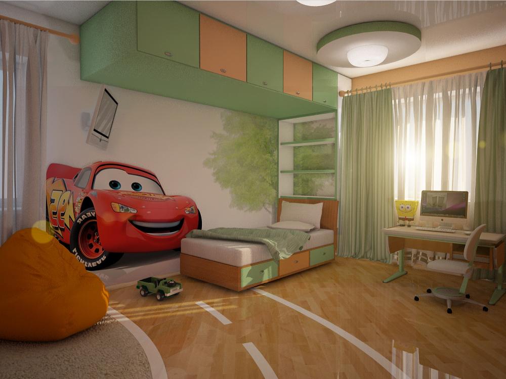 Фото интерьер детской комнаты для мальчика