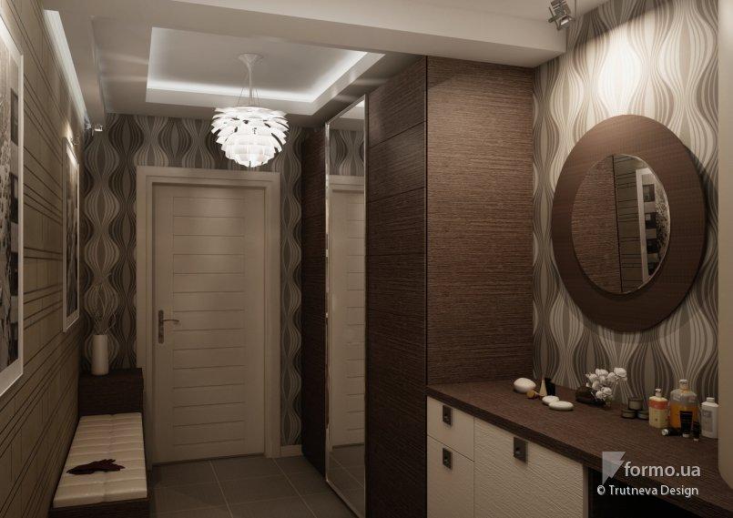 Дизайн коридора двухкомнатной квартире 144