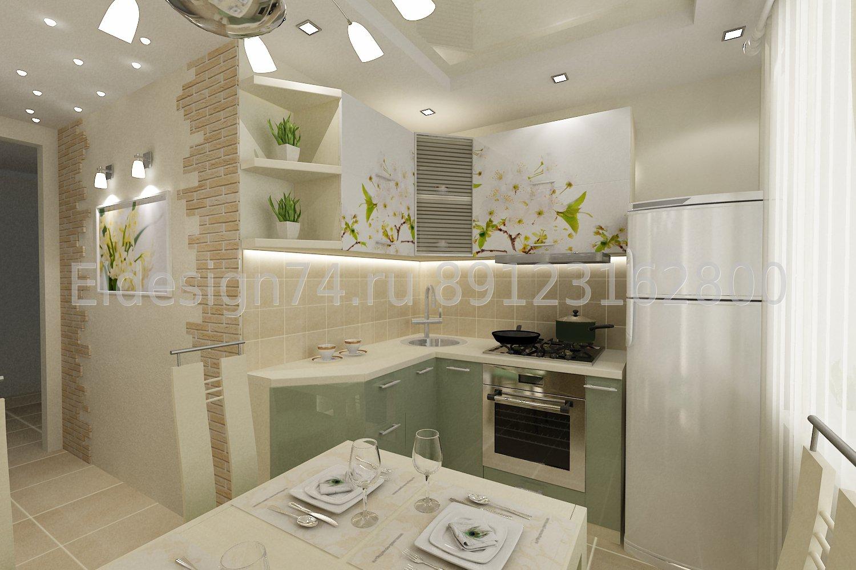 Идеи дизайна кухни в панельном доме фото