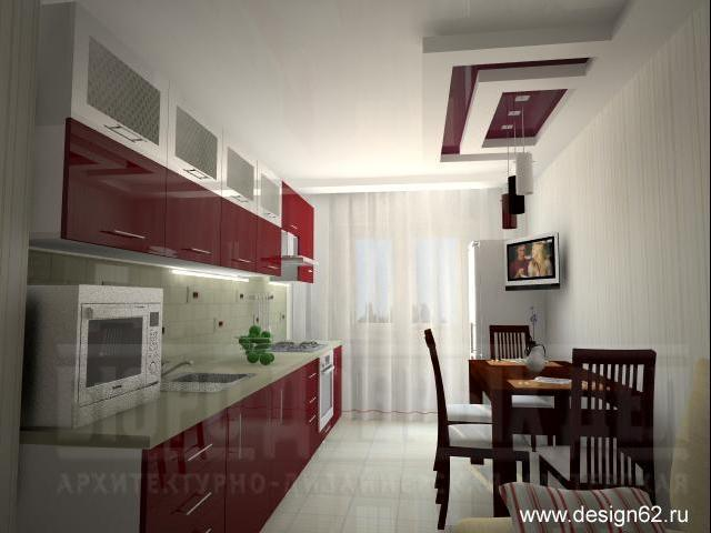 Дизайн светлой угловой кухни 9-12 кв метров фото