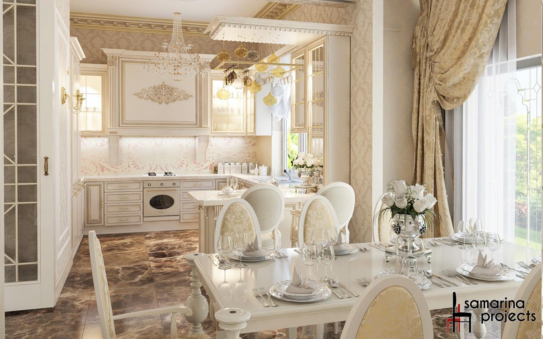 Интерьер частного дома в стиле прованс фото