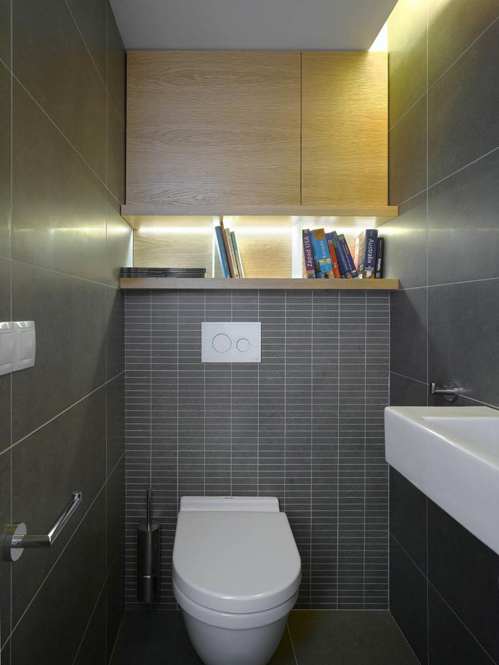 Интерьер туалета в квартире хрущевка