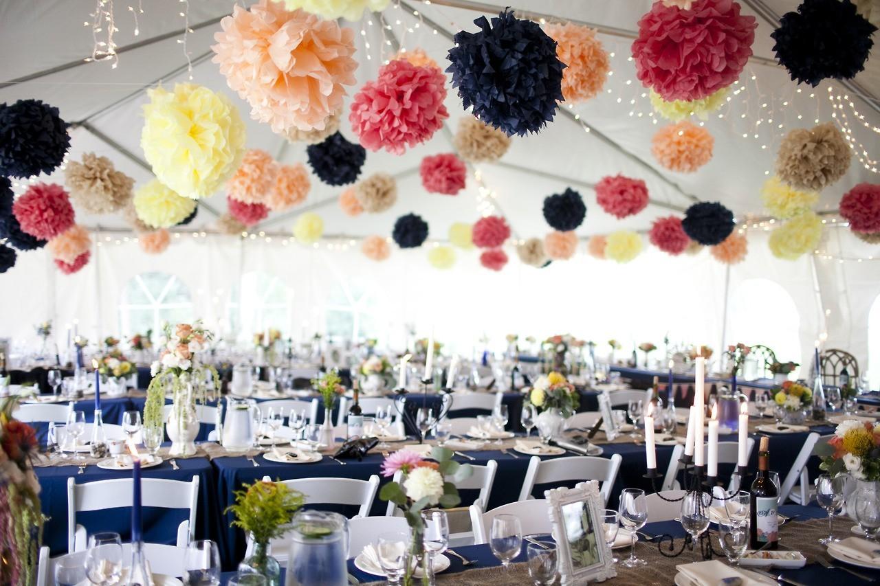 Украшения своими руками свадьба зала