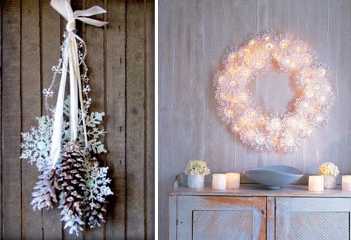 """Новогоднее оформление квартиры своими руками """" Картинки и фотографии дизайна квартир, домов, коттеджей"""