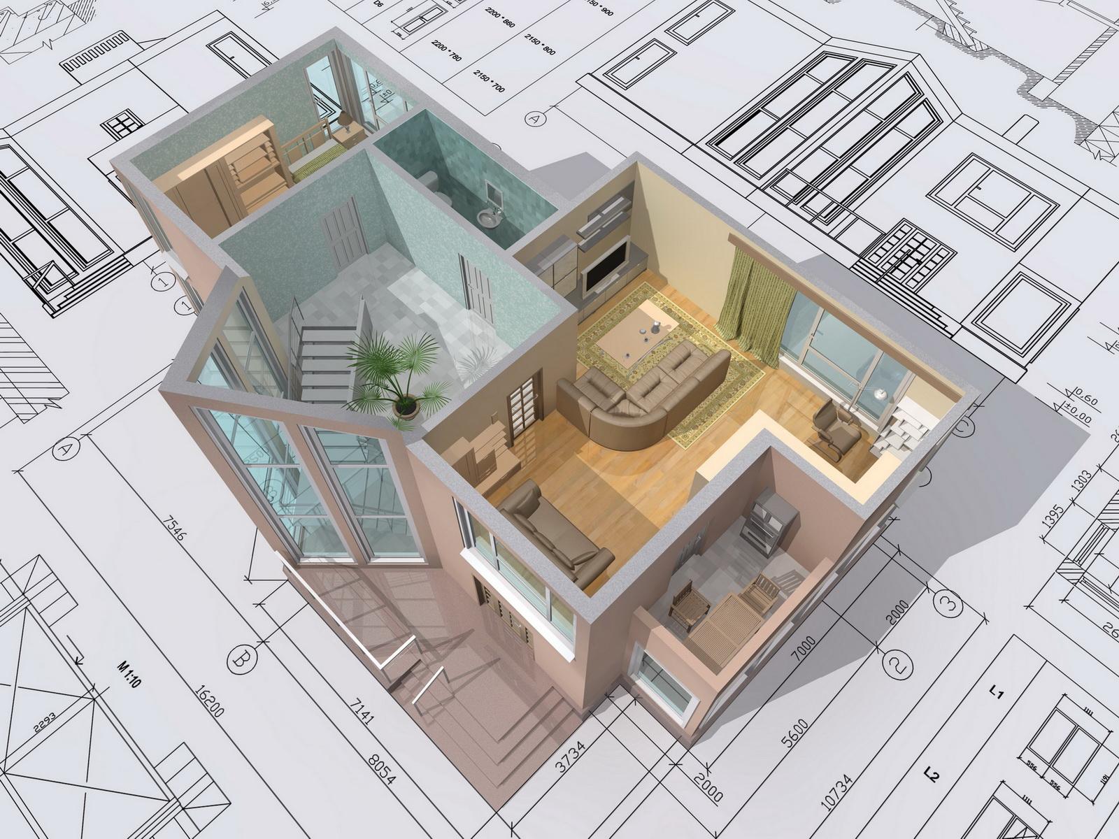 Дизайн проект квартир проектирование