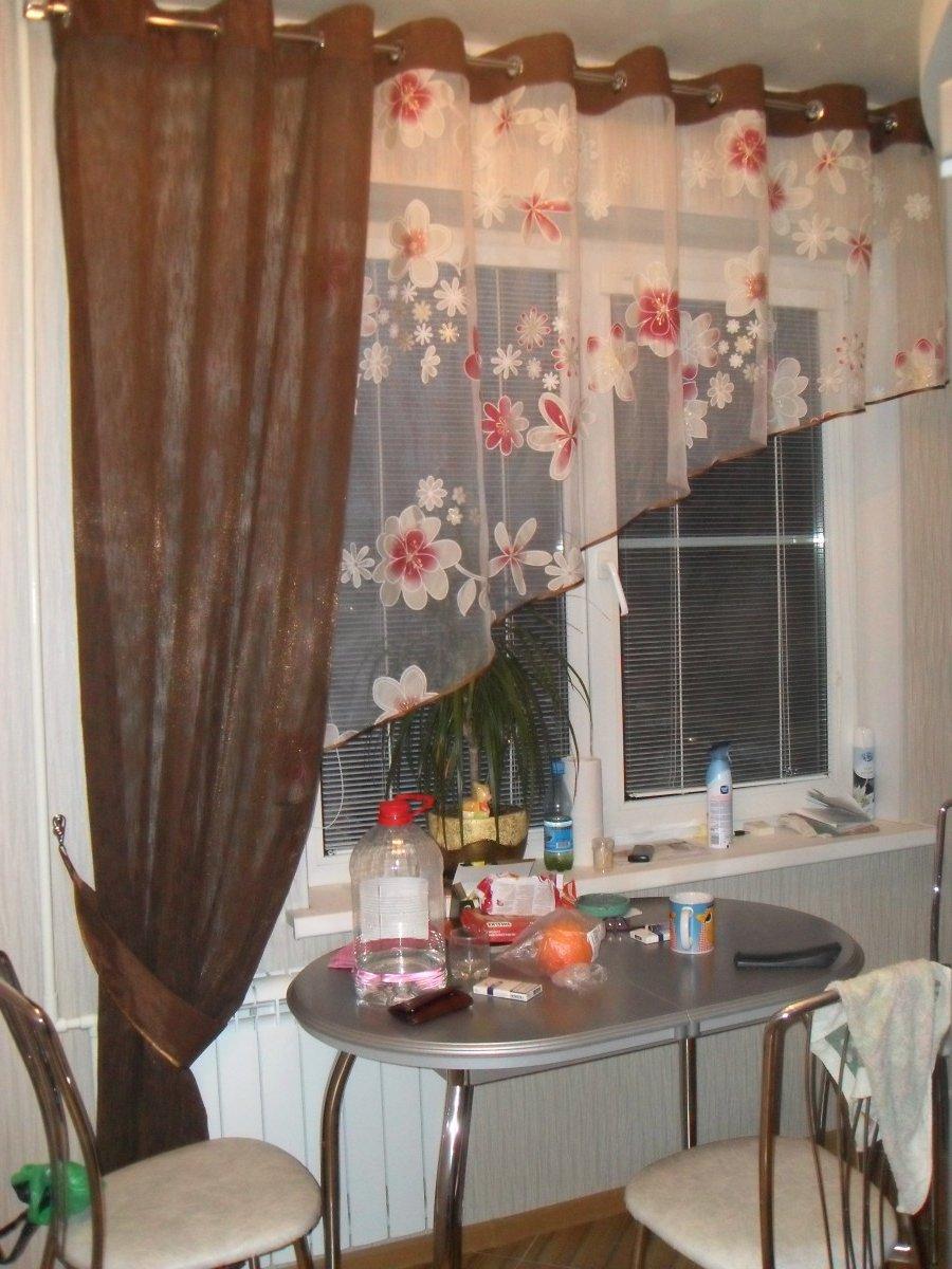 Фото шторки на кухню дизайн.