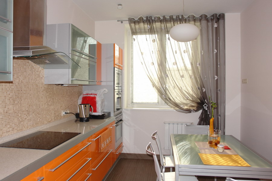 Шторы для кухни фото в интерьере