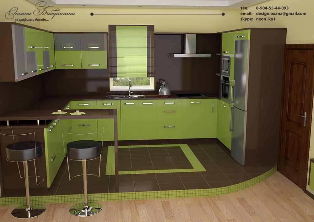 Сделать самой дизайн кухни онлайн 51