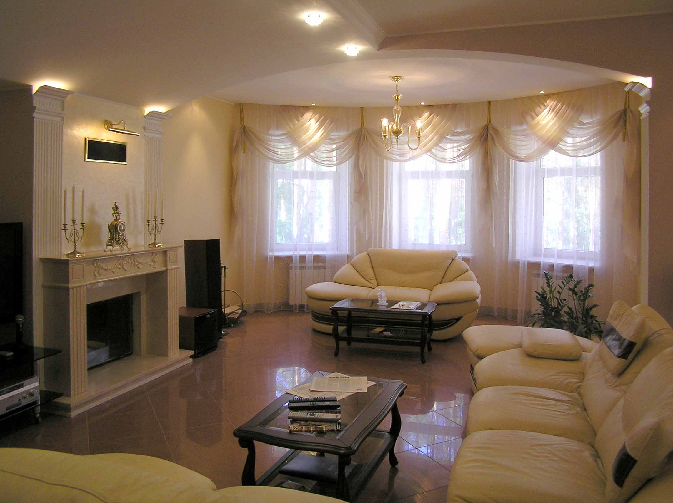 Фото дизайна залы в квартире
