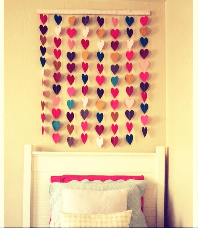 Идеи для комнаты своими руками на стену