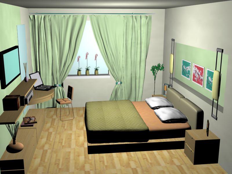 Недорогой дизайн спальни своими руками 23