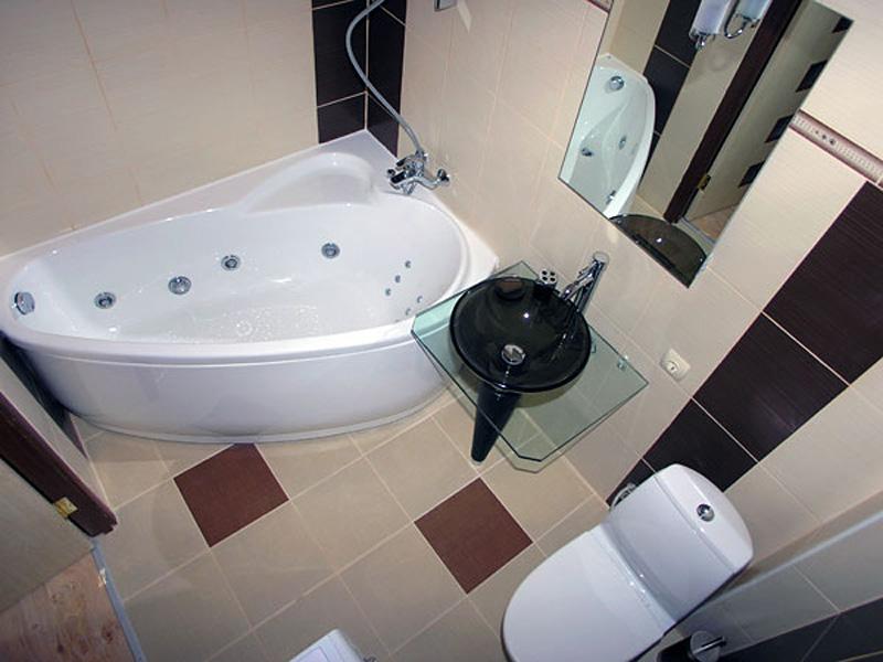 Дизайн ванной в 4 квадрата