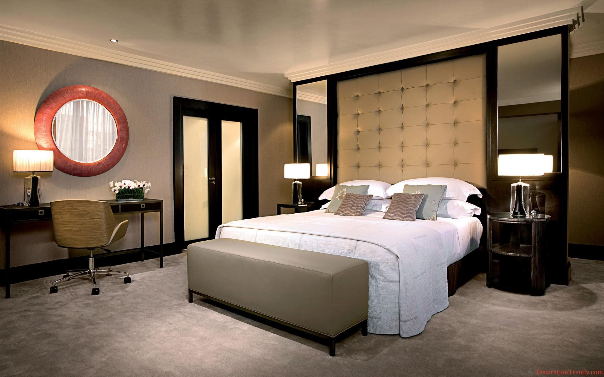 Интерьер спальня комната кровать  № 3537208 без смс