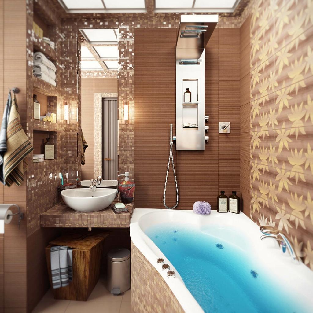 Фото ванных комнат дизайн маленькой