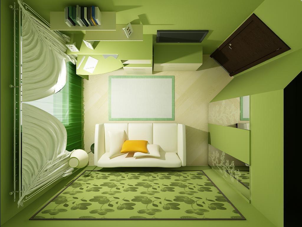 Дизайн интерьера маленькая комната