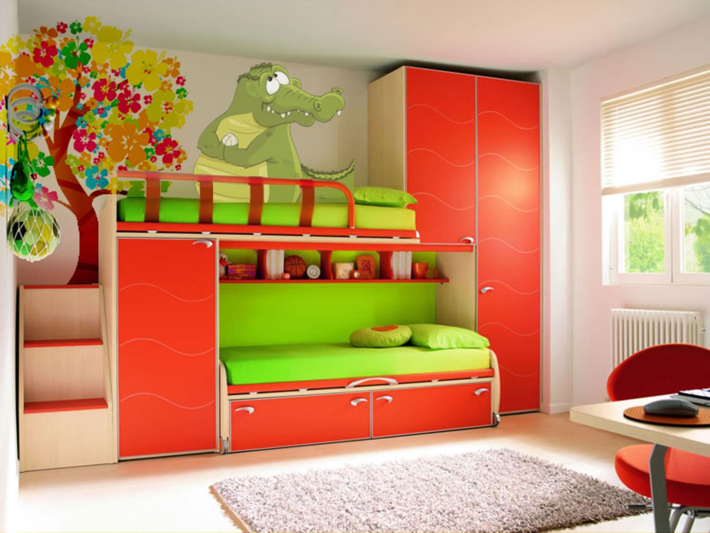 Ремонт детской комната для двоих детей своими руками