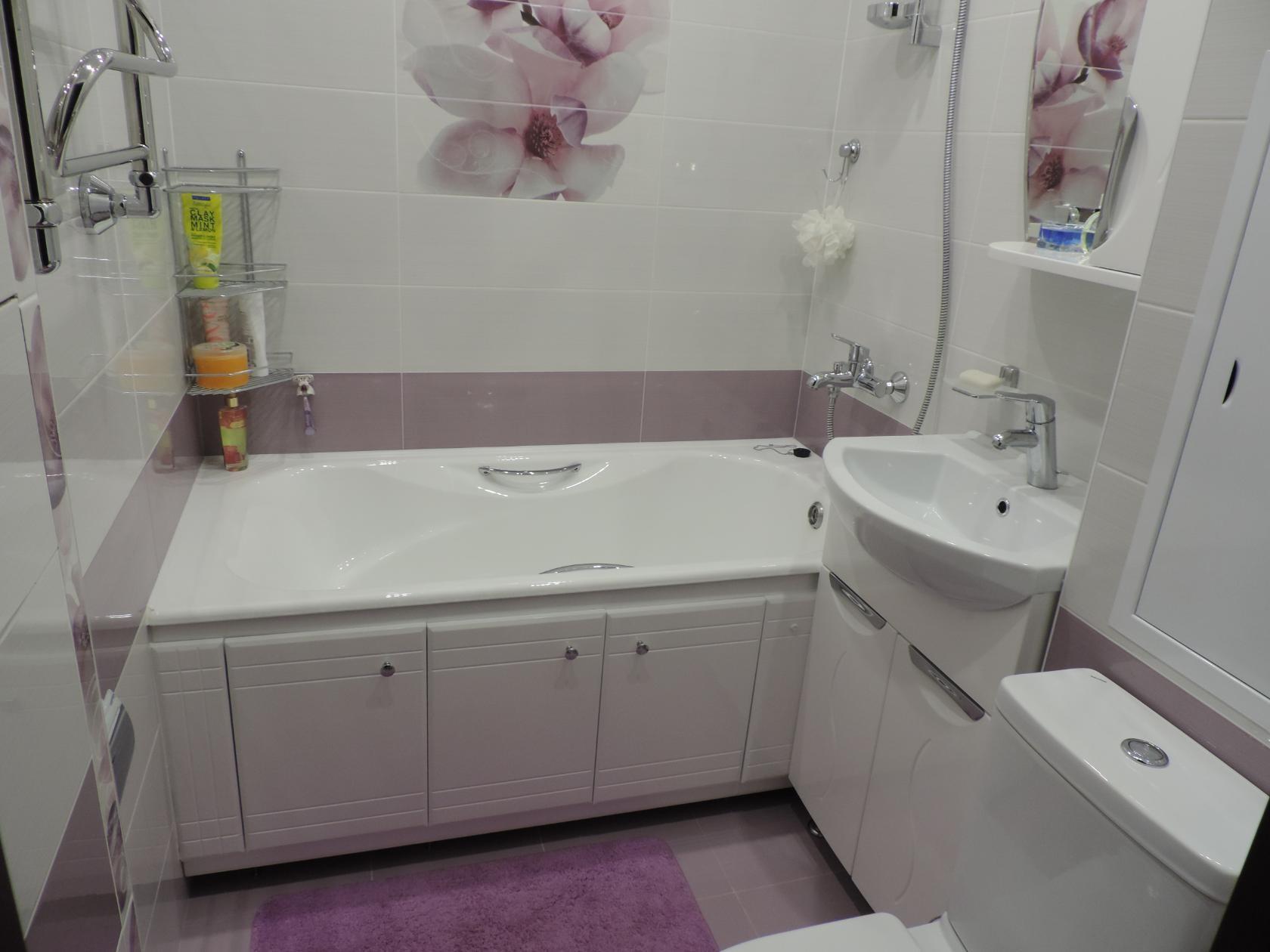 Маленькая ванная комната дизайн плитки