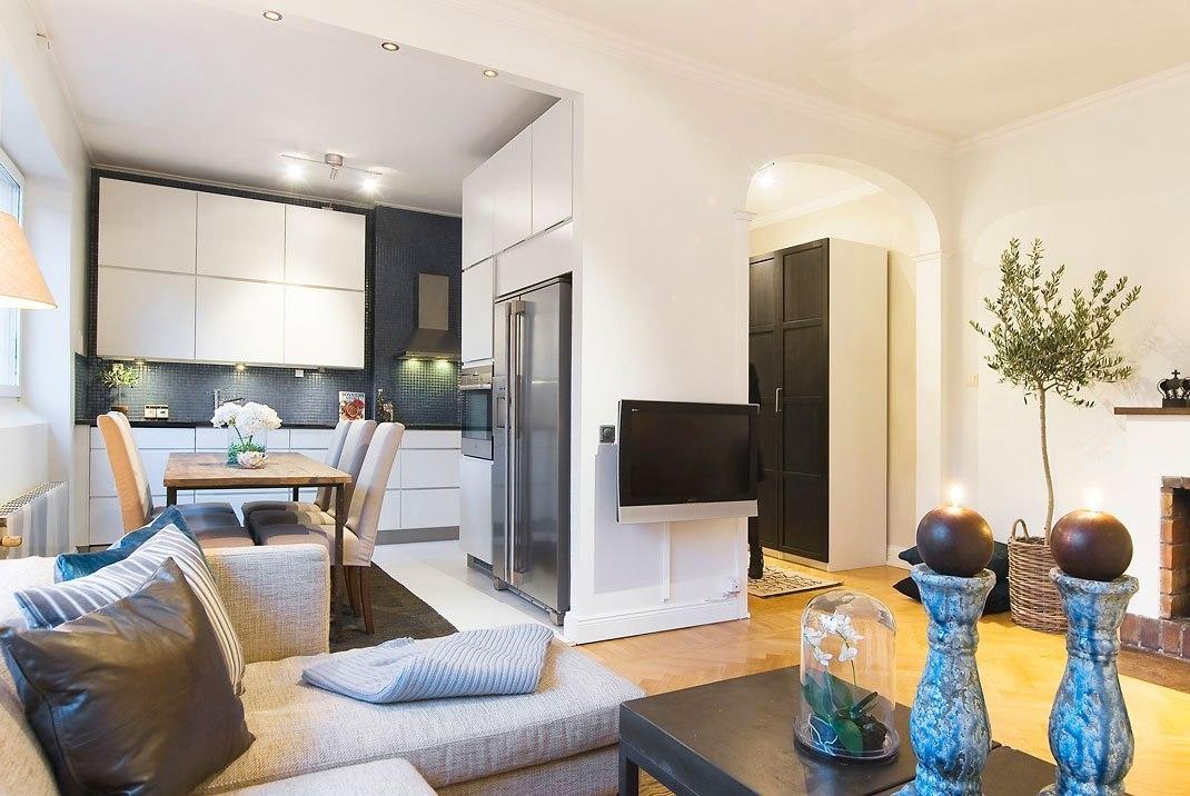 Дизайн интерьер двухкомнатной квартиры 60 кв.м фото